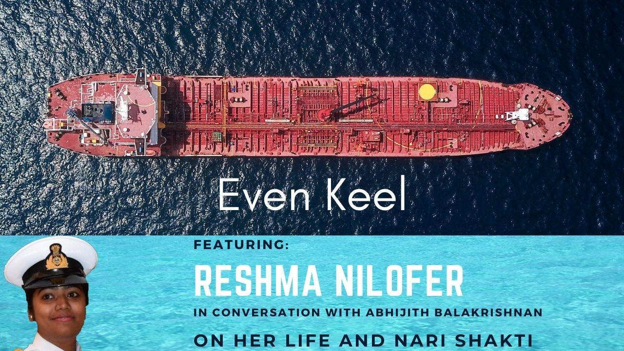 Episode 5-In Conversation with Marine Pilot Reshma Nilofer