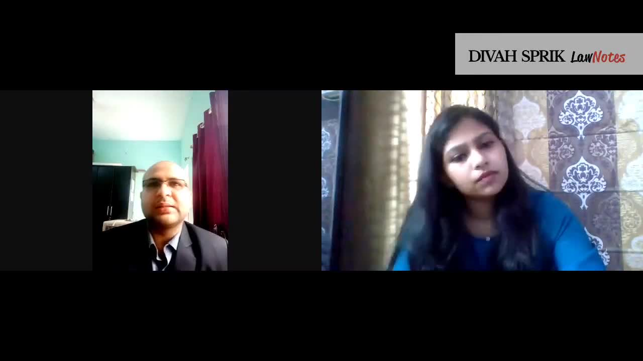 Conversations with Maritime Adv. Aishwarye Dubey | Divah Sprik Law Note
